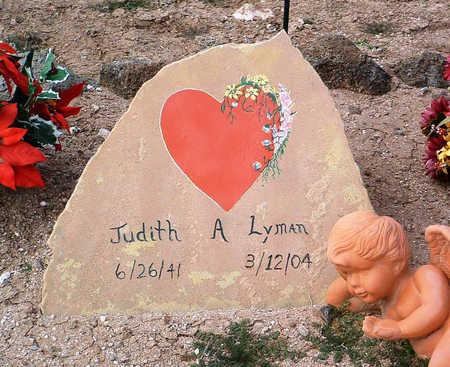 LYMAN, JUDITH - Yavapai County, Arizona | JUDITH LYMAN - Arizona Gravestone Photos