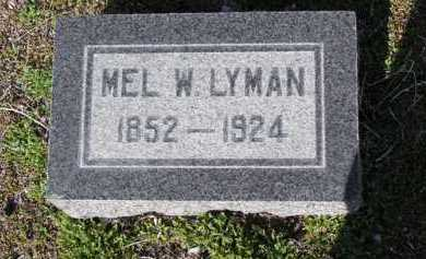 LYMAN, MELZAR WHITTEN - Yavapai County, Arizona | MELZAR WHITTEN LYMAN - Arizona Gravestone Photos