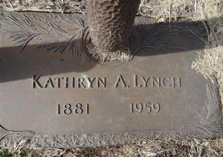 LYNCH, KATHRYN A. - Yavapai County, Arizona | KATHRYN A. LYNCH - Arizona Gravestone Photos