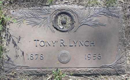LYNCH, TONY R. - Yavapai County, Arizona | TONY R. LYNCH - Arizona Gravestone Photos