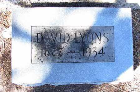 LYONS, DAVID - Yavapai County, Arizona | DAVID LYONS - Arizona Gravestone Photos