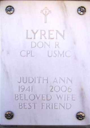 LYREN, DON R. - Yavapai County, Arizona | DON R. LYREN - Arizona Gravestone Photos