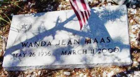 MAAS, WANDA JEAN - Yavapai County, Arizona | WANDA JEAN MAAS - Arizona Gravestone Photos