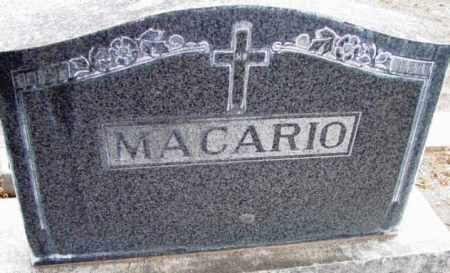 MACARIO, FAMILY HEADSTONE - Yavapai County, Arizona | FAMILY HEADSTONE MACARIO - Arizona Gravestone Photos