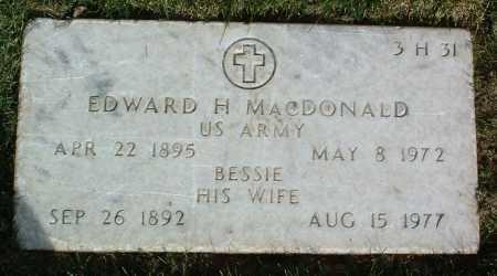 MACDONALD, BESSIE - Yavapai County, Arizona   BESSIE MACDONALD - Arizona Gravestone Photos