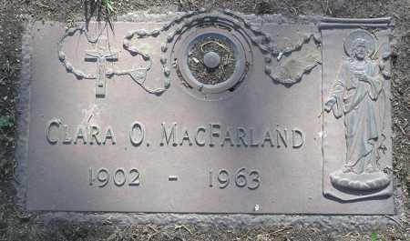MACFARLAND, CLARA ORVILLE - Yavapai County, Arizona | CLARA ORVILLE MACFARLAND - Arizona Gravestone Photos