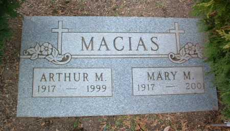 MACIAS, ARTHUR M. - Yavapai County, Arizona   ARTHUR M. MACIAS - Arizona Gravestone Photos
