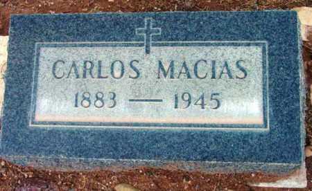 MACIAS, CARLOS - Yavapai County, Arizona | CARLOS MACIAS - Arizona Gravestone Photos