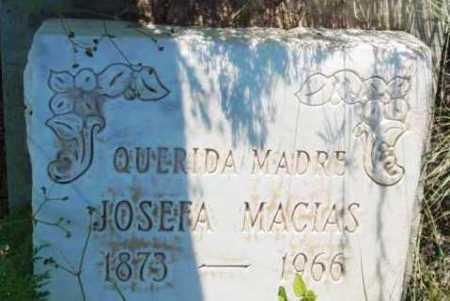 MACIAS, JOSEFA - Yavapai County, Arizona | JOSEFA MACIAS - Arizona Gravestone Photos