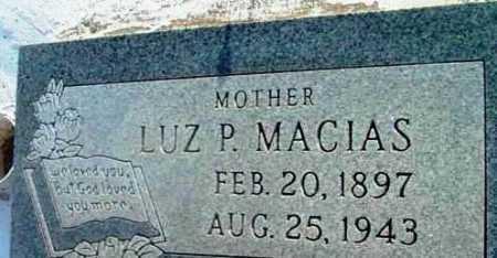 MACIAS, LUZ P. - Yavapai County, Arizona   LUZ P. MACIAS - Arizona Gravestone Photos