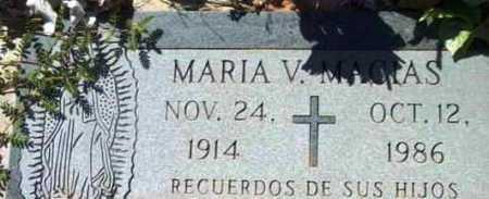 MACIAS, MARIA SILVAS - Yavapai County, Arizona   MARIA SILVAS MACIAS - Arizona Gravestone Photos