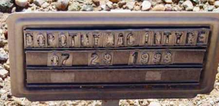 MACINTYRE, DOROTHY H. - Yavapai County, Arizona | DOROTHY H. MACINTYRE - Arizona Gravestone Photos
