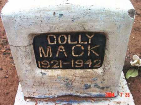 MACK, DOLLY - Yavapai County, Arizona | DOLLY MACK - Arizona Gravestone Photos