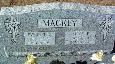 MACKEY, EVERETT C. - Yavapai County, Arizona | EVERETT C. MACKEY - Arizona Gravestone Photos