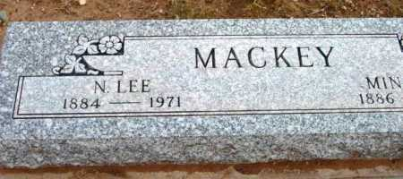 MACKEY, N. LEE - Yavapai County, Arizona | N. LEE MACKEY - Arizona Gravestone Photos