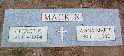 MACKIN, ANNA MARIE - Yavapai County, Arizona | ANNA MARIE MACKIN - Arizona Gravestone Photos