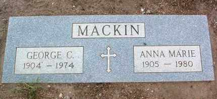 MACKIN, GEORGE CLARK - Yavapai County, Arizona | GEORGE CLARK MACKIN - Arizona Gravestone Photos