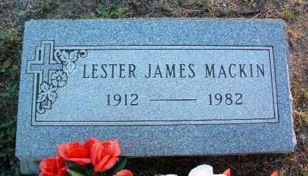 MACKIN, LESTER JAMES - Yavapai County, Arizona | LESTER JAMES MACKIN - Arizona Gravestone Photos