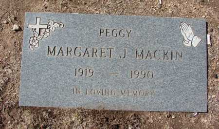 "MACKIN, MARGARET J. ""PEGGY"" - Yavapai County, Arizona 