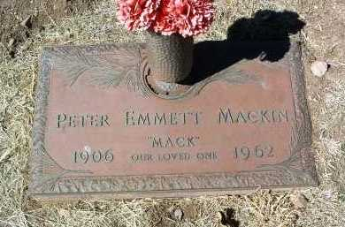 MACKIN, PETER EMMETT - Yavapai County, Arizona | PETER EMMETT MACKIN - Arizona Gravestone Photos