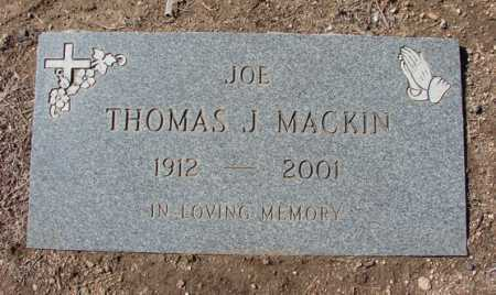 MACKIN, THOMAS JOSEPH - Yavapai County, Arizona | THOMAS JOSEPH MACKIN - Arizona Gravestone Photos