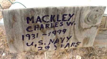 MACKLEY, CHARLES WILLIAM - Yavapai County, Arizona | CHARLES WILLIAM MACKLEY - Arizona Gravestone Photos