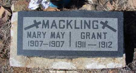 MACKLING, GRANT - Yavapai County, Arizona   GRANT MACKLING - Arizona Gravestone Photos
