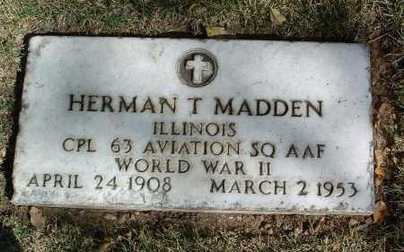 MADDEN, HERMAN T. - Yavapai County, Arizona | HERMAN T. MADDEN - Arizona Gravestone Photos