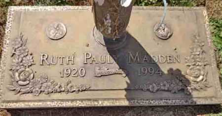 KNAPP MADDEN, RUTH P. - Yavapai County, Arizona | RUTH P. KNAPP MADDEN - Arizona Gravestone Photos