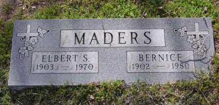 MADERS, BERNICE - Yavapai County, Arizona   BERNICE MADERS - Arizona Gravestone Photos