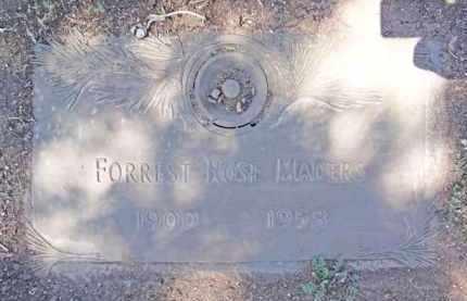 SMITH MADERS, FORREST - Yavapai County, Arizona | FORREST SMITH MADERS - Arizona Gravestone Photos