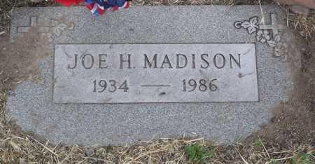 MADISON, JOE H. - Yavapai County, Arizona   JOE H. MADISON - Arizona Gravestone Photos