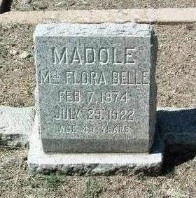 BROWNELL MADOLE, FLORA - Yavapai County, Arizona | FLORA BROWNELL MADOLE - Arizona Gravestone Photos