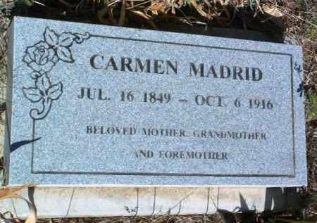 MADRID, CARMEN - Yavapai County, Arizona | CARMEN MADRID - Arizona Gravestone Photos