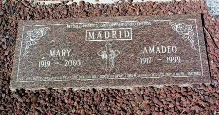 MADRID, MARY APODACA - Yavapai County, Arizona | MARY APODACA MADRID - Arizona Gravestone Photos