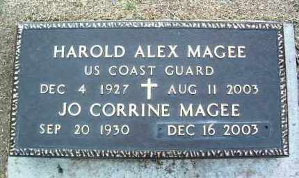 MAGEE, HAROLD ALEX - Yavapai County, Arizona | HAROLD ALEX MAGEE - Arizona Gravestone Photos