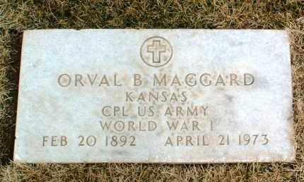 MAGGARD, ORVAL BENJAMIN - Yavapai County, Arizona | ORVAL BENJAMIN MAGGARD - Arizona Gravestone Photos