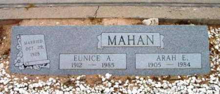 MAHAN, EUNICE AUDREY - Yavapai County, Arizona | EUNICE AUDREY MAHAN - Arizona Gravestone Photos