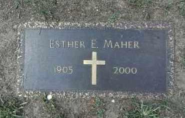 MAHER, ESTHER ELIZABETH - Yavapai County, Arizona | ESTHER ELIZABETH MAHER - Arizona Gravestone Photos