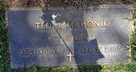 MAHONIK, TED JOHN - Yavapai County, Arizona | TED JOHN MAHONIK - Arizona Gravestone Photos