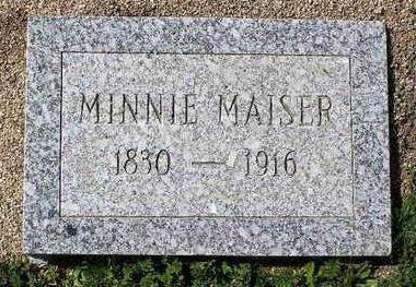MAISER, MINNIE - Yavapai County, Arizona | MINNIE MAISER - Arizona Gravestone Photos