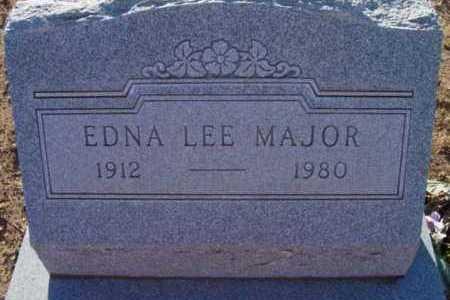 THOMPSON MAJOR, EDNA L. - Yavapai County, Arizona | EDNA L. THOMPSON MAJOR - Arizona Gravestone Photos