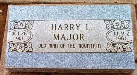MAJOR, HARRY IKE - Yavapai County, Arizona   HARRY IKE MAJOR - Arizona Gravestone Photos
