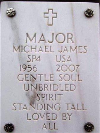 MAJOR, MICHAEL JAMES - Yavapai County, Arizona   MICHAEL JAMES MAJOR - Arizona Gravestone Photos