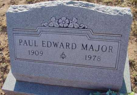 MAJOR, PAUL EDWARD - Yavapai County, Arizona | PAUL EDWARD MAJOR - Arizona Gravestone Photos