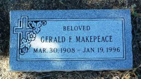 MAKEPEACE, GERALD F. - Yavapai County, Arizona   GERALD F. MAKEPEACE - Arizona Gravestone Photos