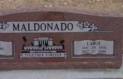 MALDONADO, LARUE - Yavapai County, Arizona | LARUE MALDONADO - Arizona Gravestone Photos