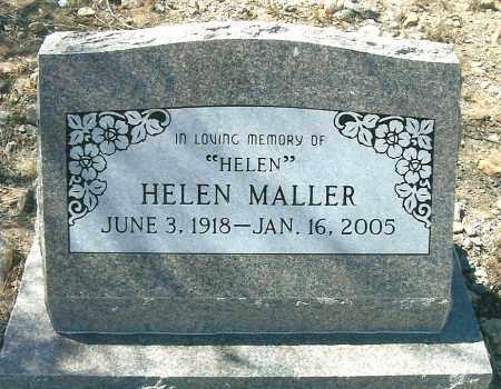 MALLER, HELEN - Yavapai County, Arizona | HELEN MALLER - Arizona Gravestone Photos