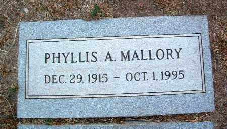 SMITH MALLORY, PHYLLIS A. - Yavapai County, Arizona | PHYLLIS A. SMITH MALLORY - Arizona Gravestone Photos