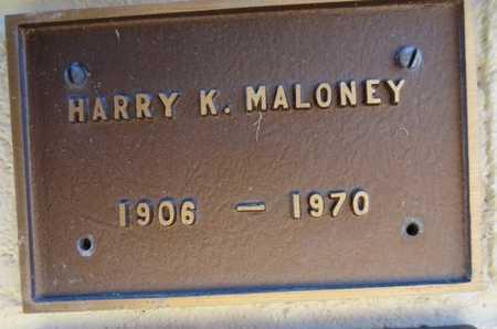 MALONEY, HARRY K. - Yavapai County, Arizona | HARRY K. MALONEY - Arizona Gravestone Photos